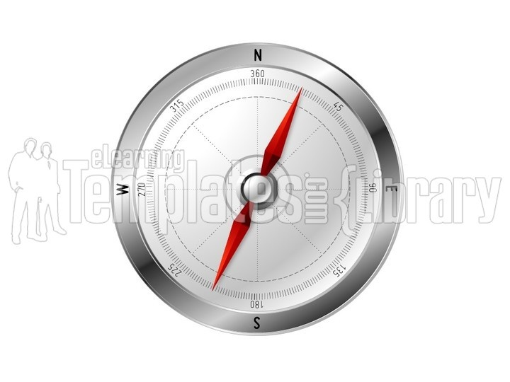 Powerpoint Gauge Graphic Chart - Thermometer Template