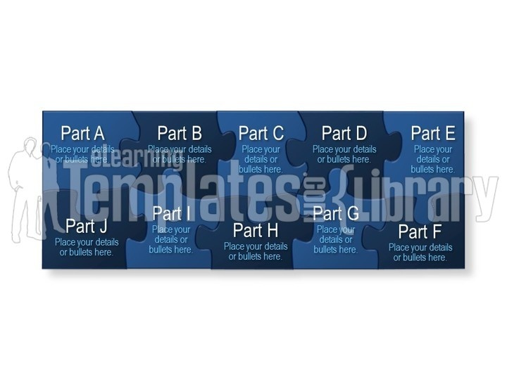 puzzle graphics graphic for powerpoint presentation templates, Modern powerpoint