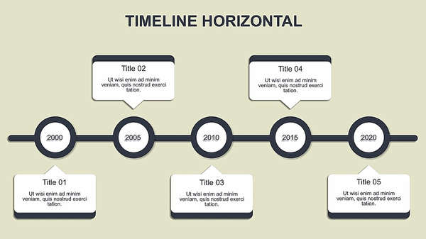 powerpoint cylindrical timeline graphic template templates for ppt