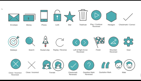 movemint style icons powerpoint