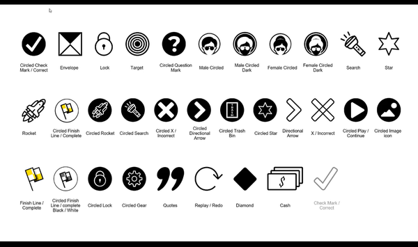 powerpoint paperclip graphic icons and symbols for ppt