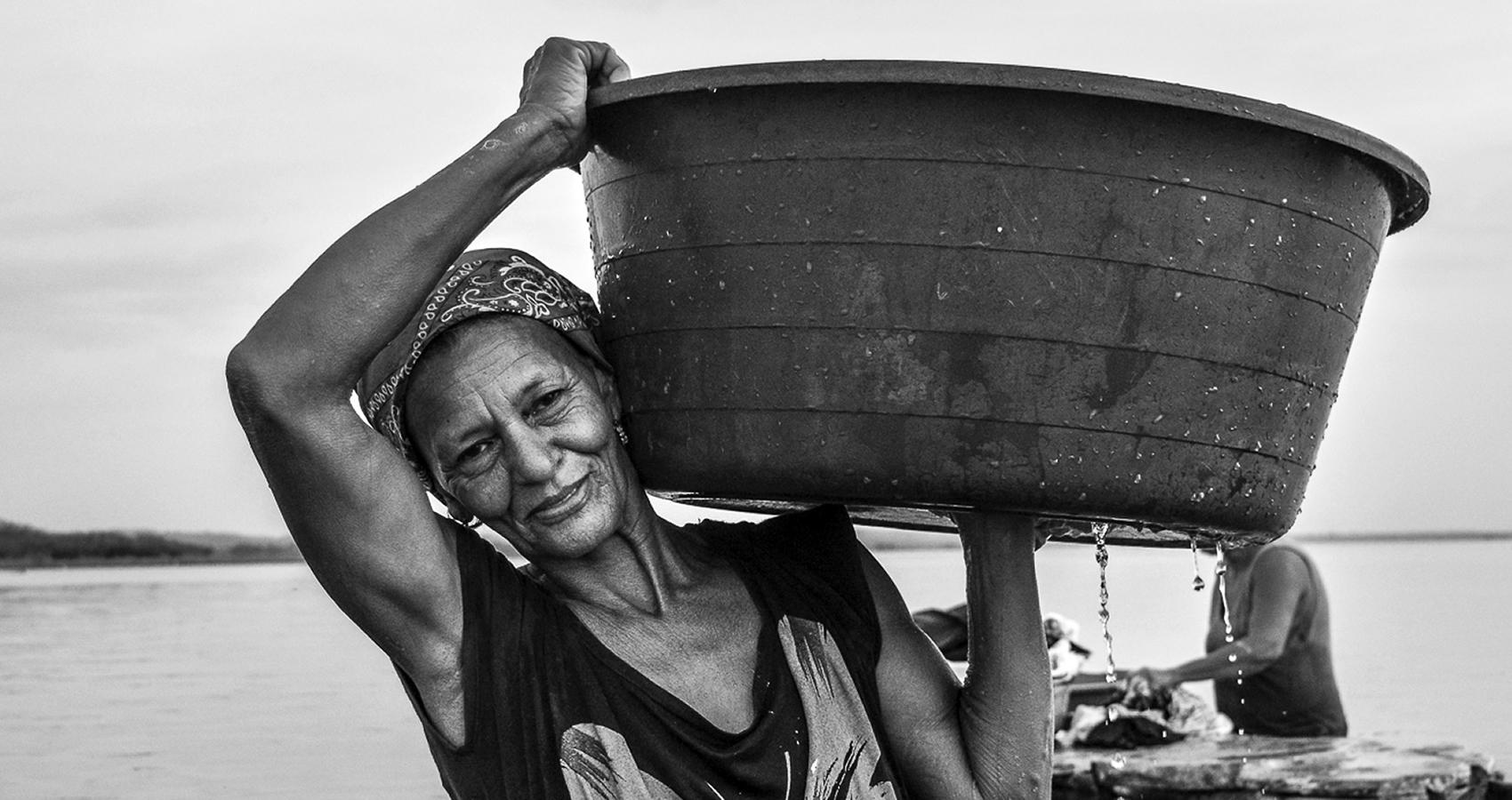 Las lavanderas de Zapayán