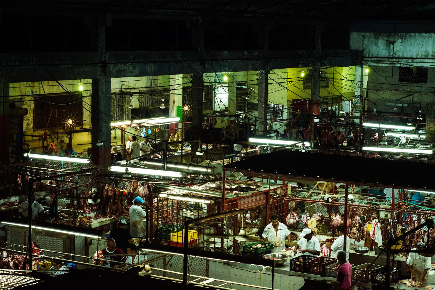 'Sueños de Mercado', una madrugada en el centro de Barranquilla