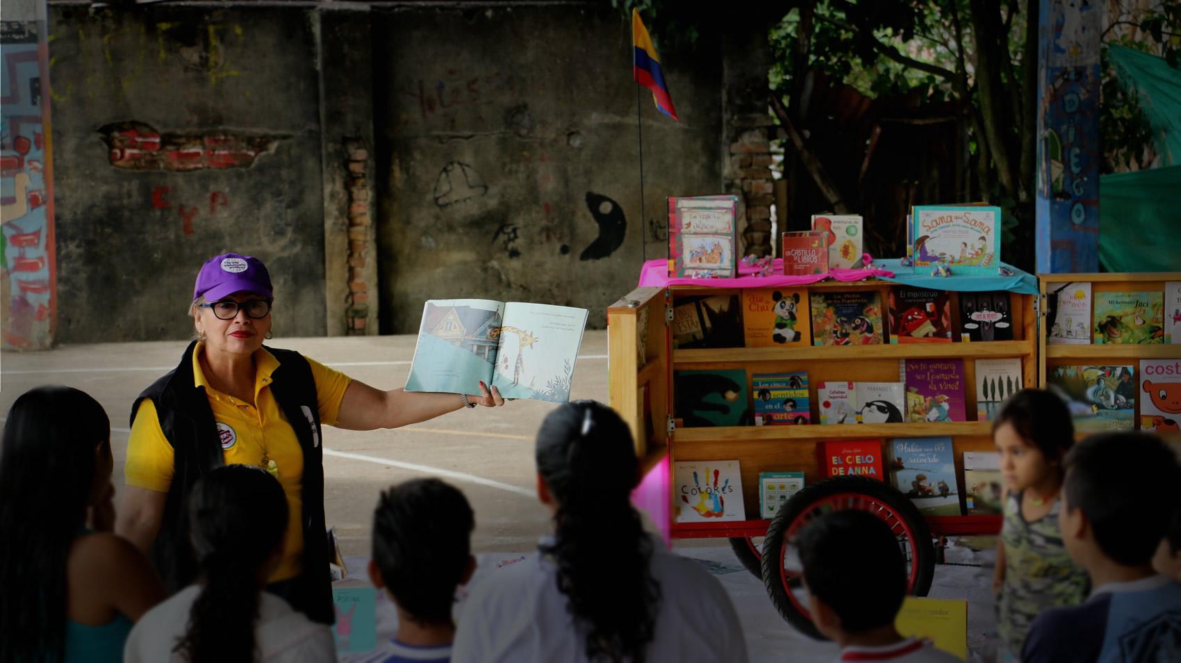 El desafío de educar con bibliotecas a la Colombia del posconflicto