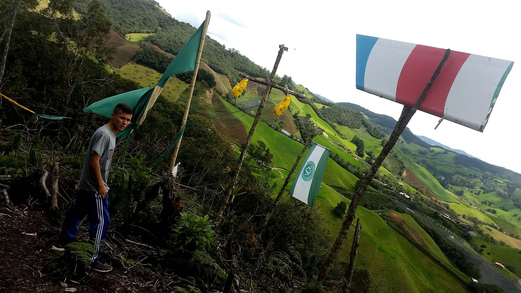 Así se vive en Cerro Gordo un año después de la tragedia de Chapecoense