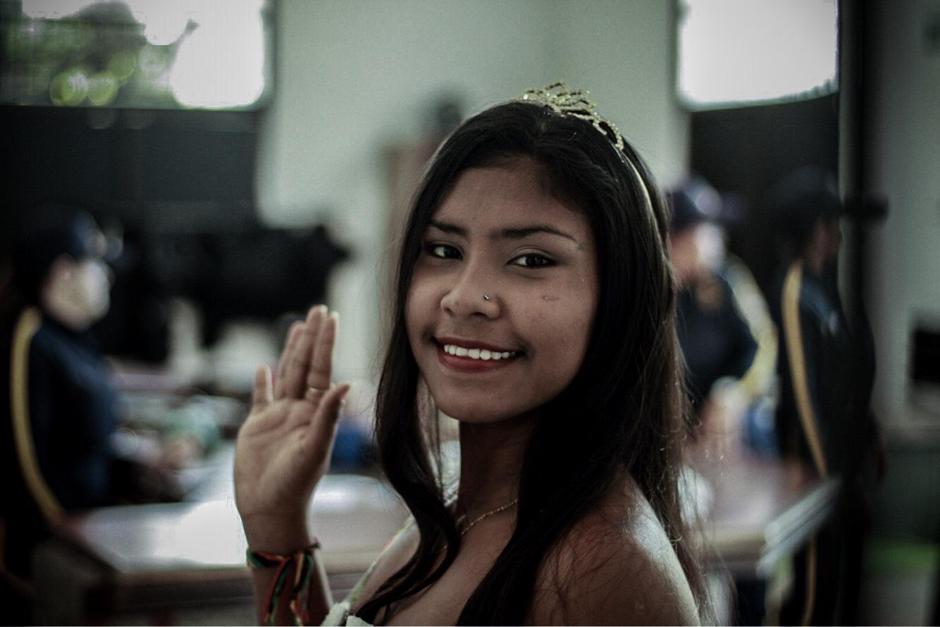 La reina del Carnaval... de una cárcel de Barranquilla