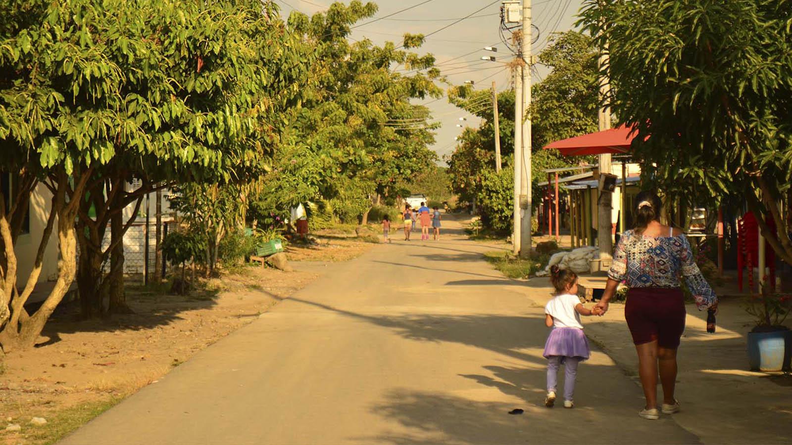 Así se vive en un pueblo costeño en el centro del país