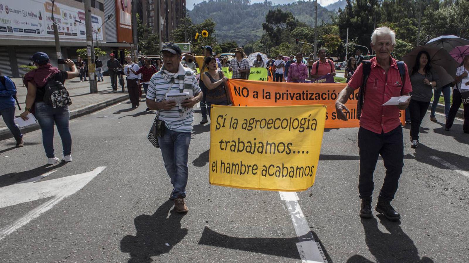 En Medellín sí hay campesinos y piden que los escuchen