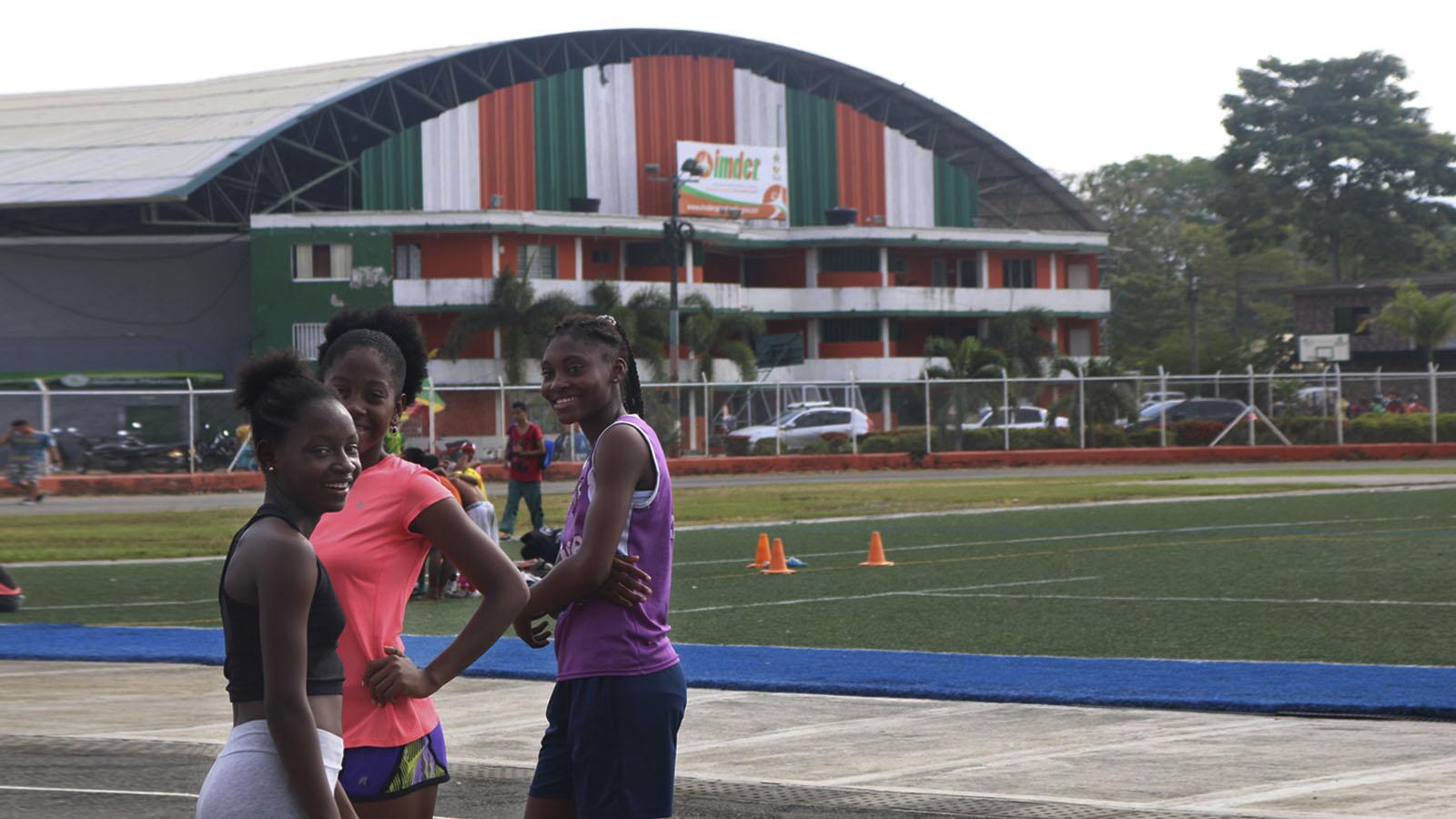 Así entrenan atletismo en la cuna de Caterine Ibargüen