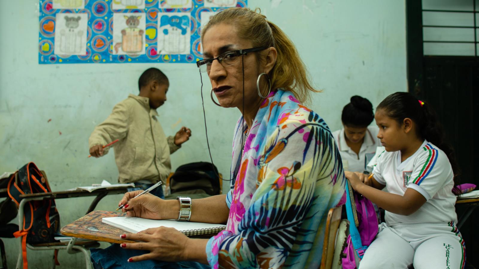 Solypsi, la primera profe trans de los colegios públicos en Colombia