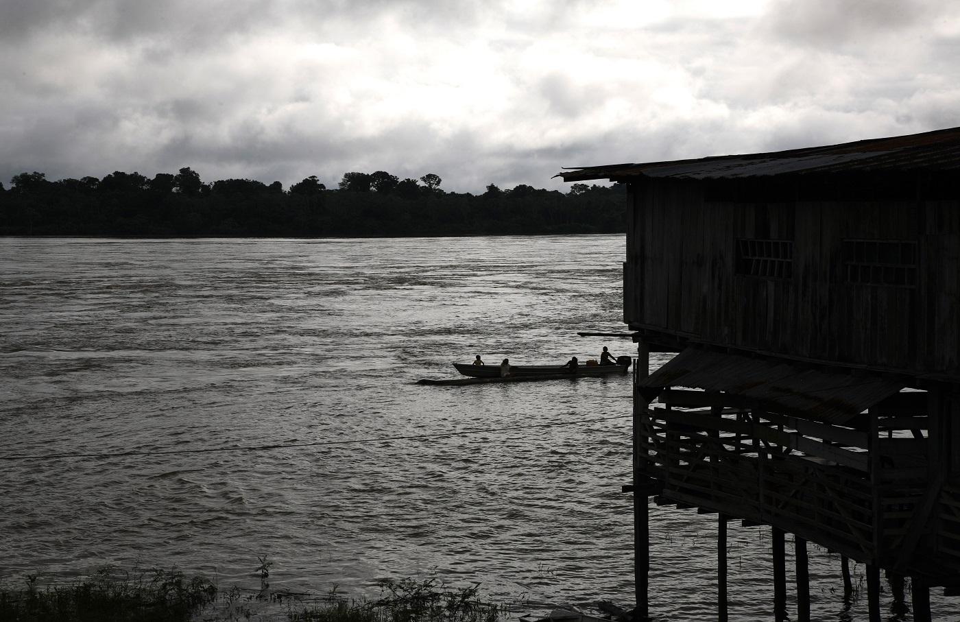El mercurio contamina silenciosamente al río Caquetá