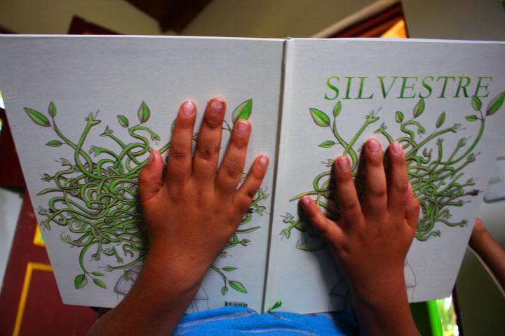 Silvestre, un libro escrito por niños desde una Casita Rural