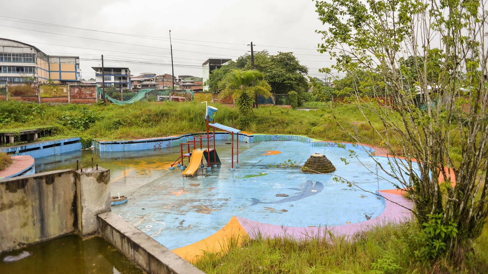 El acuaparque que naufragó en Buenaventura