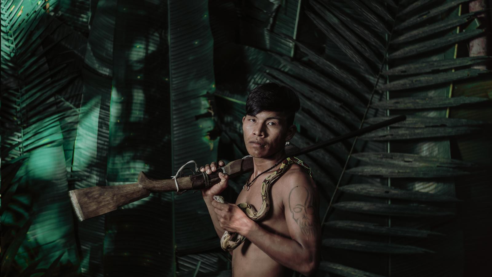 Retratos: en la piel Ticuna