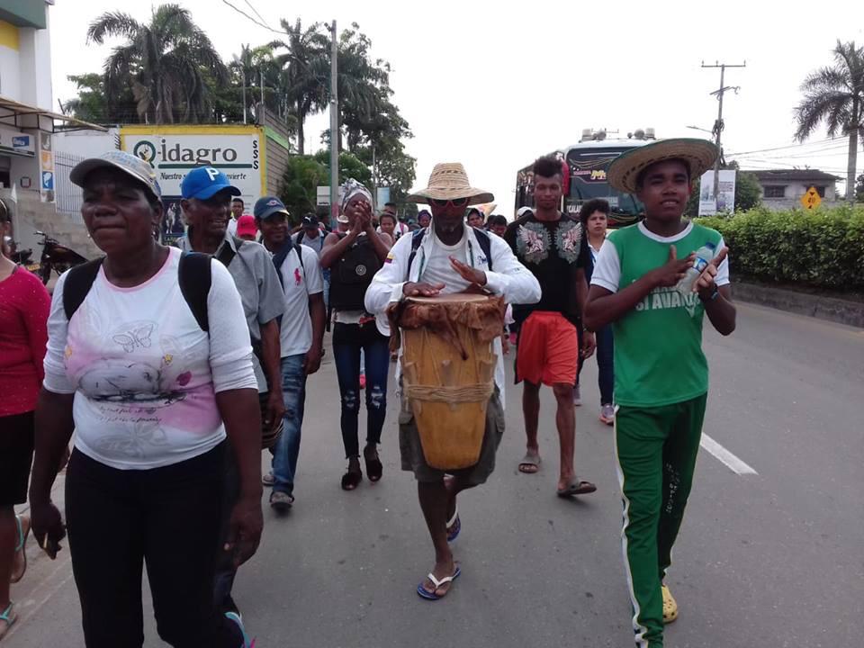 El diario de un caminante por sus derechos en Montes de María