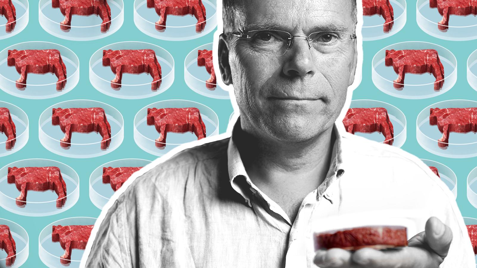 Mark Post, el científico que hace carne sin sacrificar animales