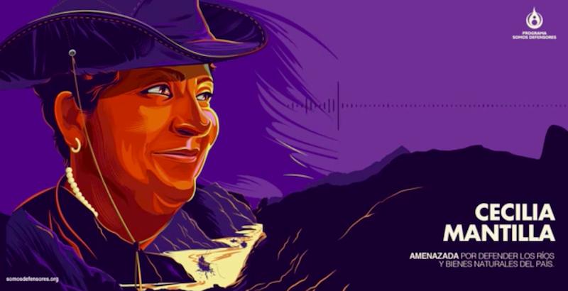 Voces a prueba de balas: Cecilia Mantilla, guardiana de los ríos