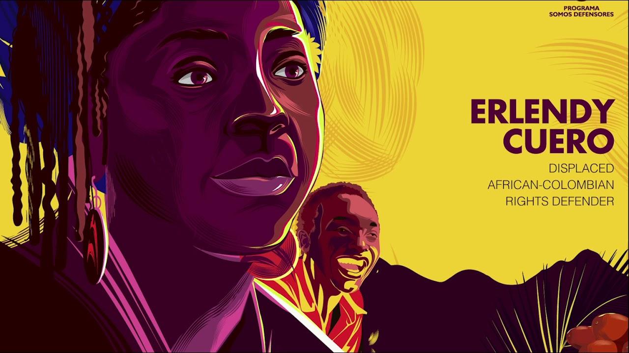 Voces a prueba de balas: Erlendy Cuero, el eco del despojo afro