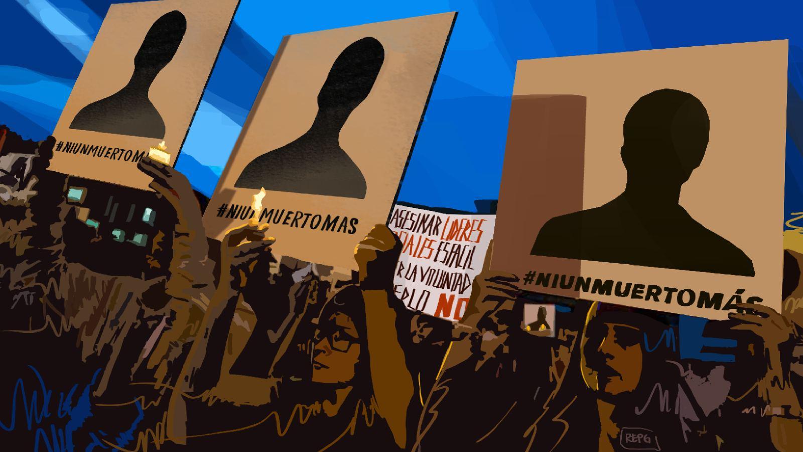 Líderes sociales y comunitarios del Caguán, en alerta por amenazas