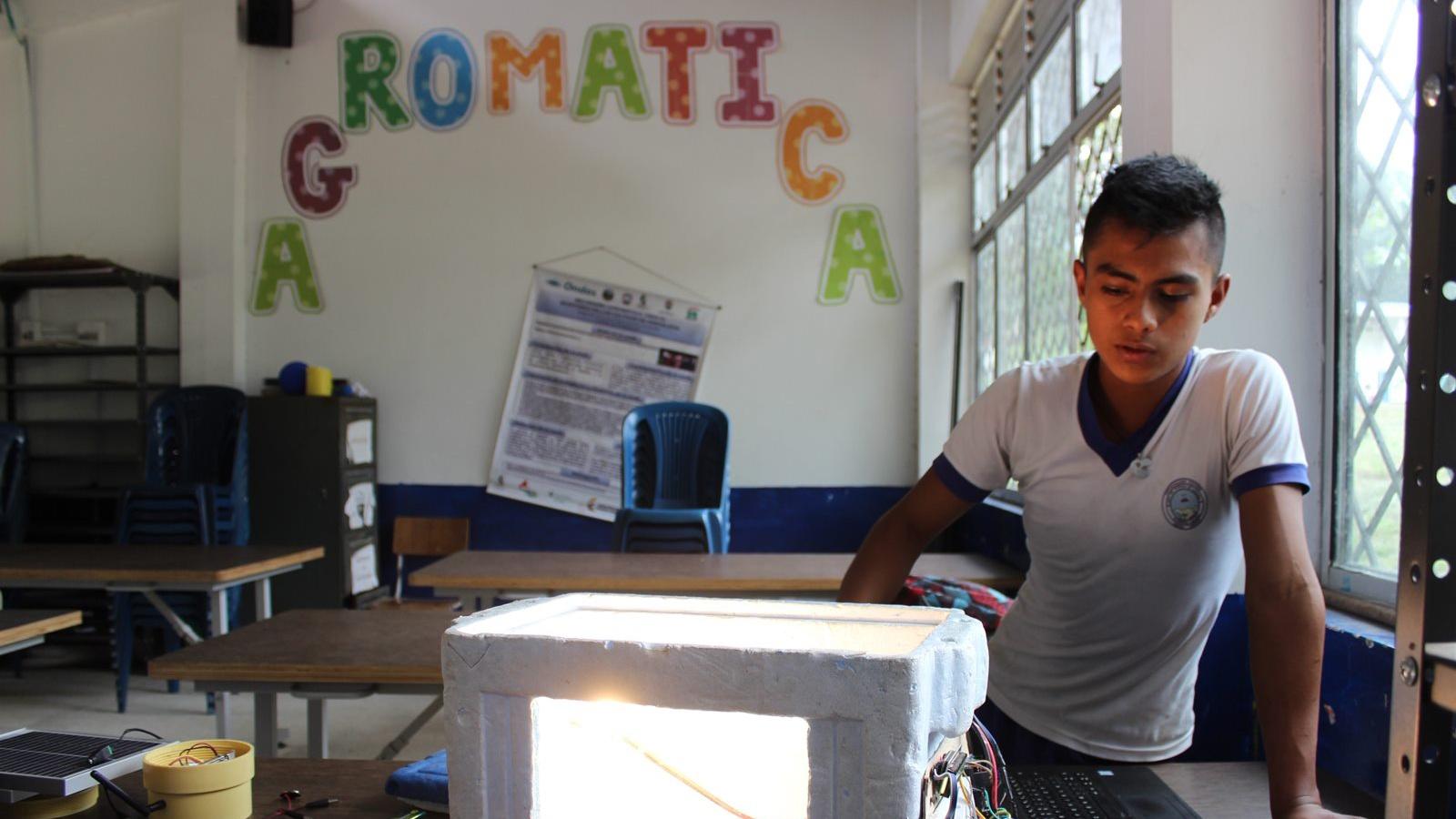 Agromática, la asignatura escolar que pretende cambiar el futuro del campo