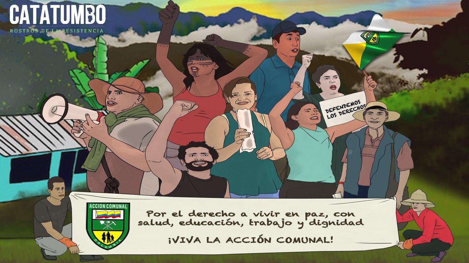 El movimiento comunal del Catatumbo: el rostro del liderazgo