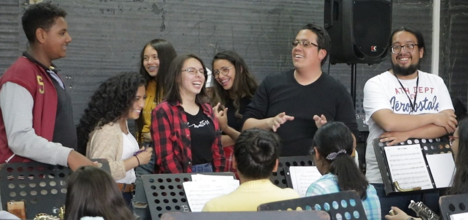 Los niños de las veredas de Chía que exportarán su música a Cuba