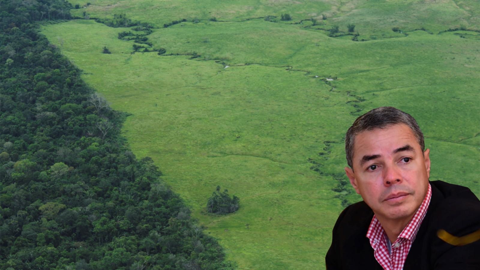 """""""Necesitamos al mundo para frenar la deforestación"""": gobernador de Caquetá"""