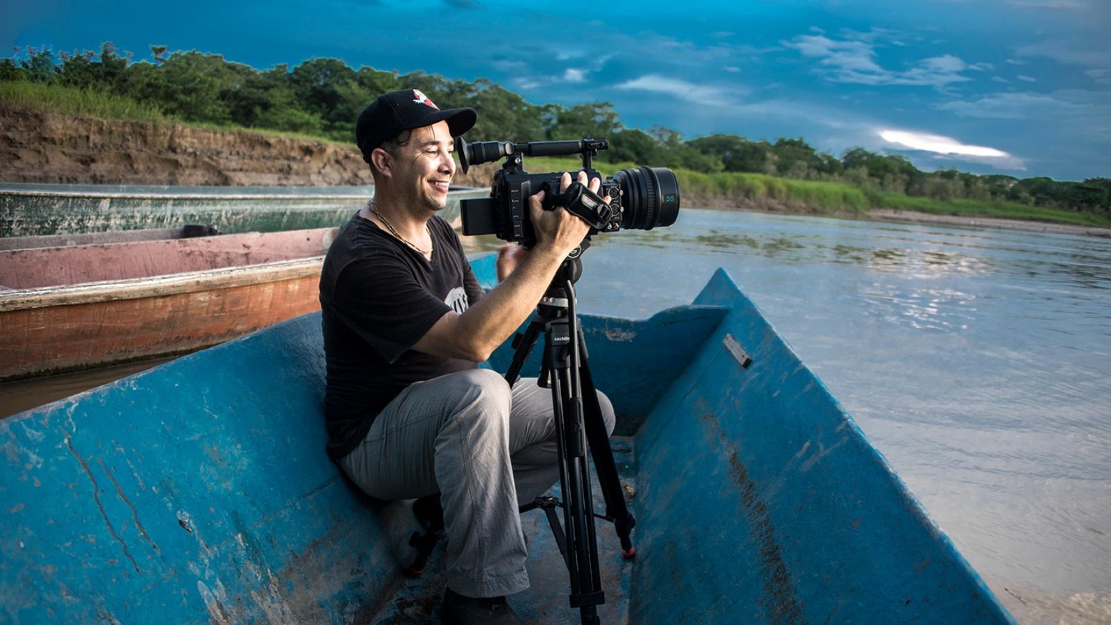 Mauricio Lezama: el cineasta al que las balas le cegaron la vida