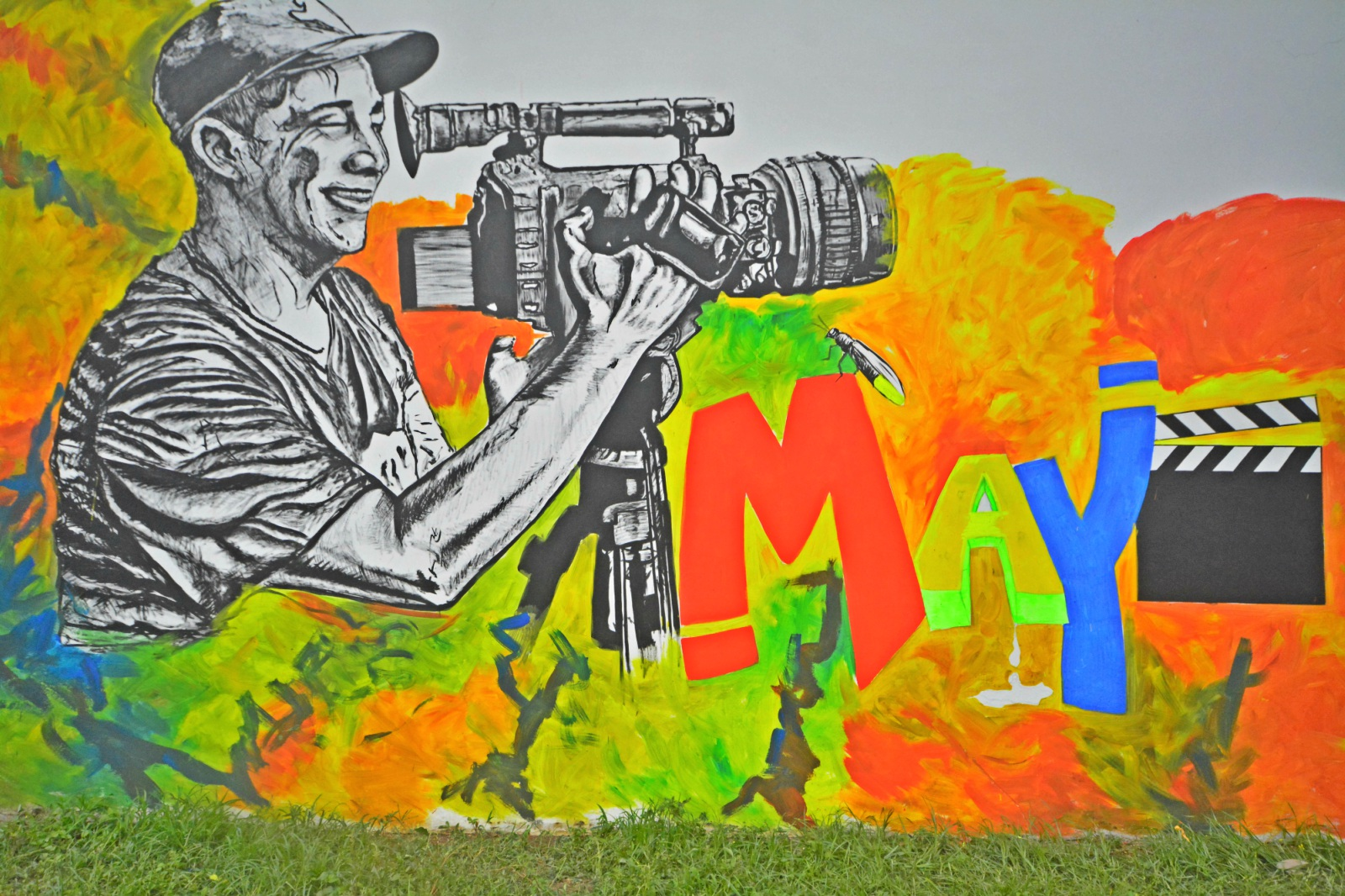 Con un mural, Arauca despidió a cineasta asesinado