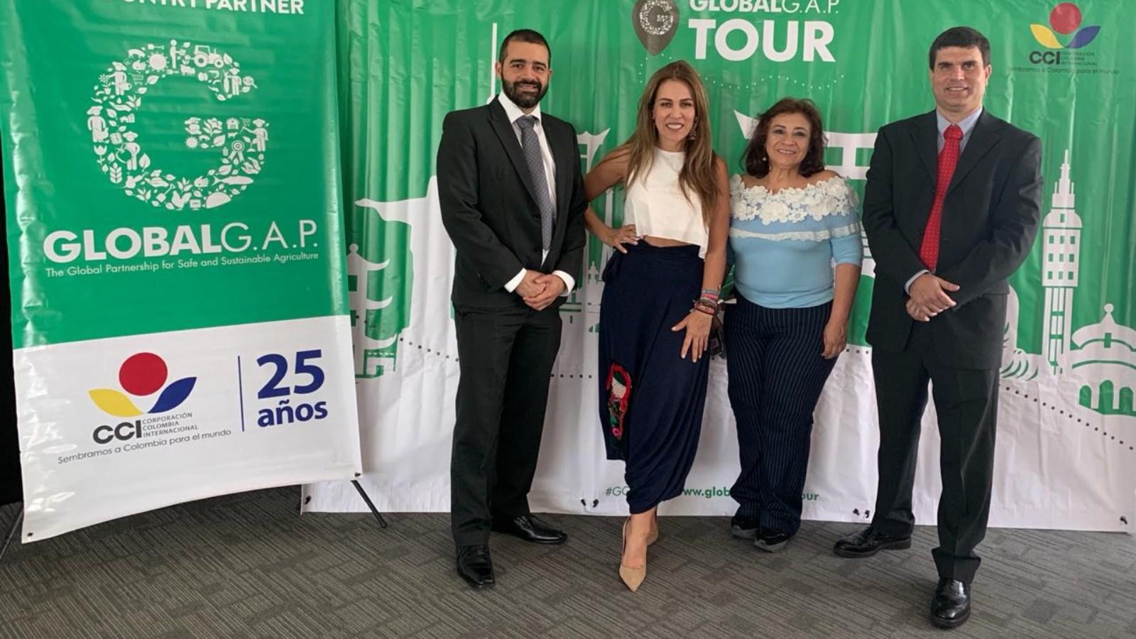 Comenzó la segunda versión del Tour GlobalG.A.P que se realiza en Medellín