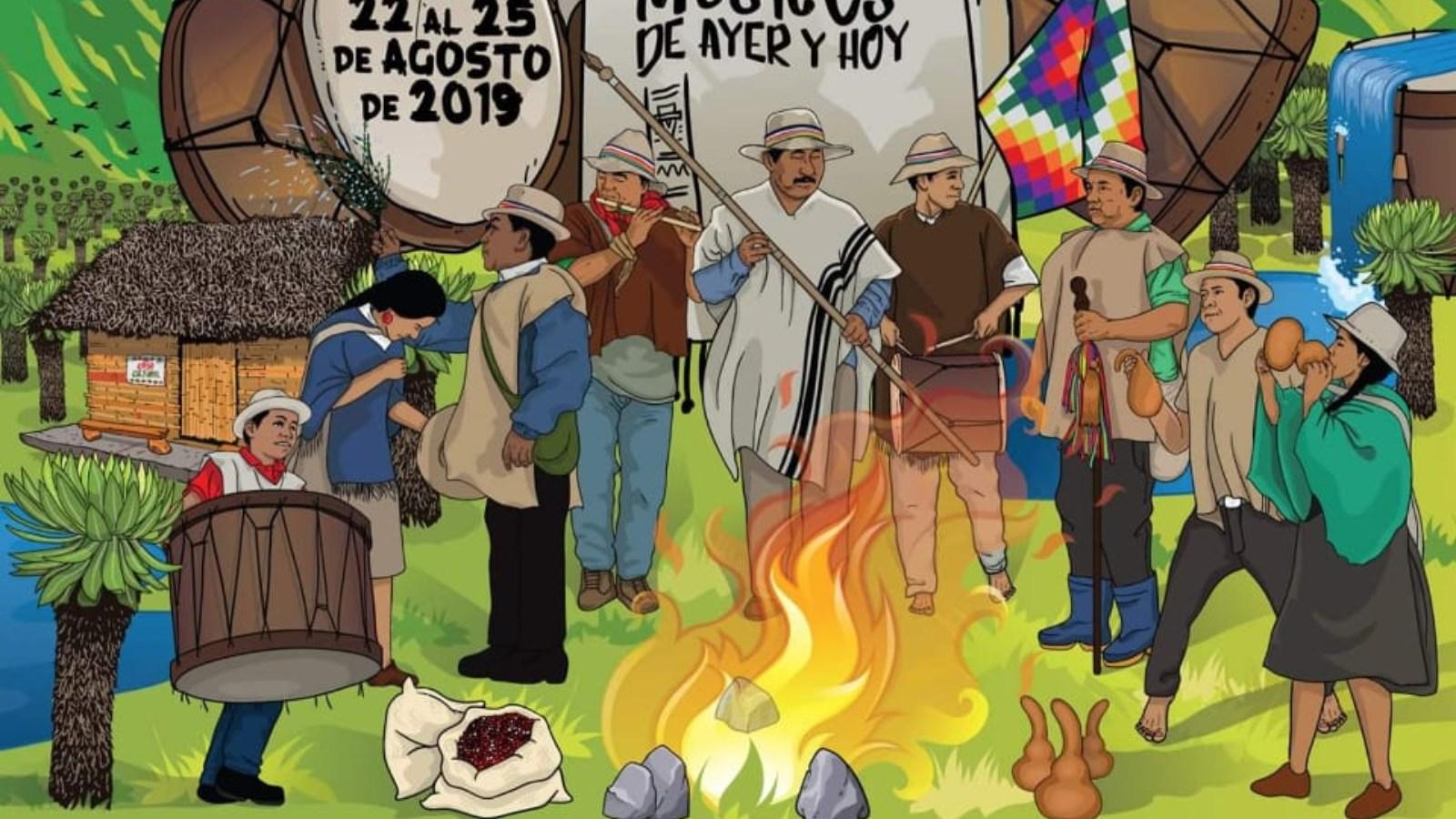 ¿En qué consiste el diálogo de flautas y tambores de los Andes?