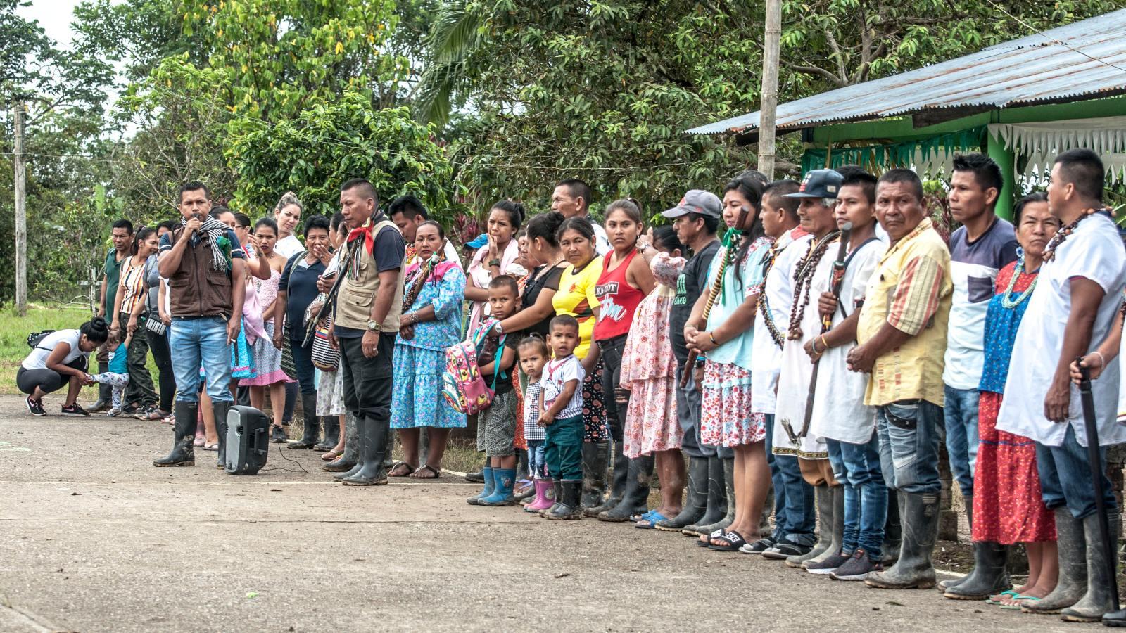 Organizaciones indígenas declaran en alerta humanitaria a los sionas del Putumayo