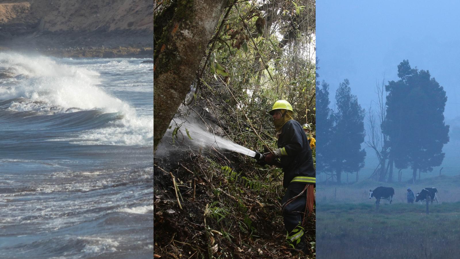 Medio país, en alerta por fenómenos climáticos