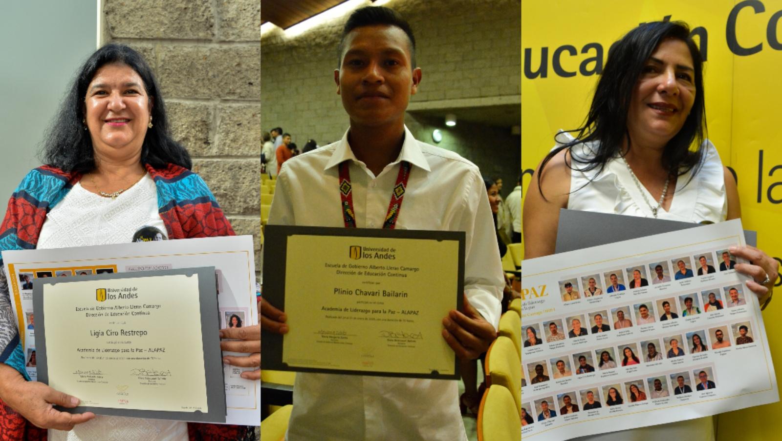 Cuarenta líderes sociales se graduaron de la tercera promoción de Academia de Liderazgo para la Paz