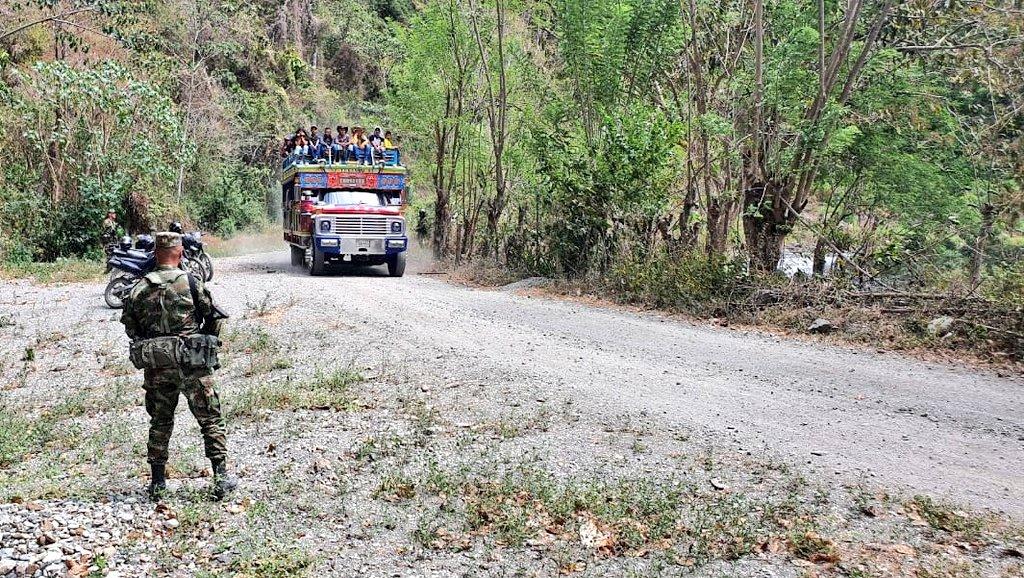 Las víctimas del desplazamiento en Ituango