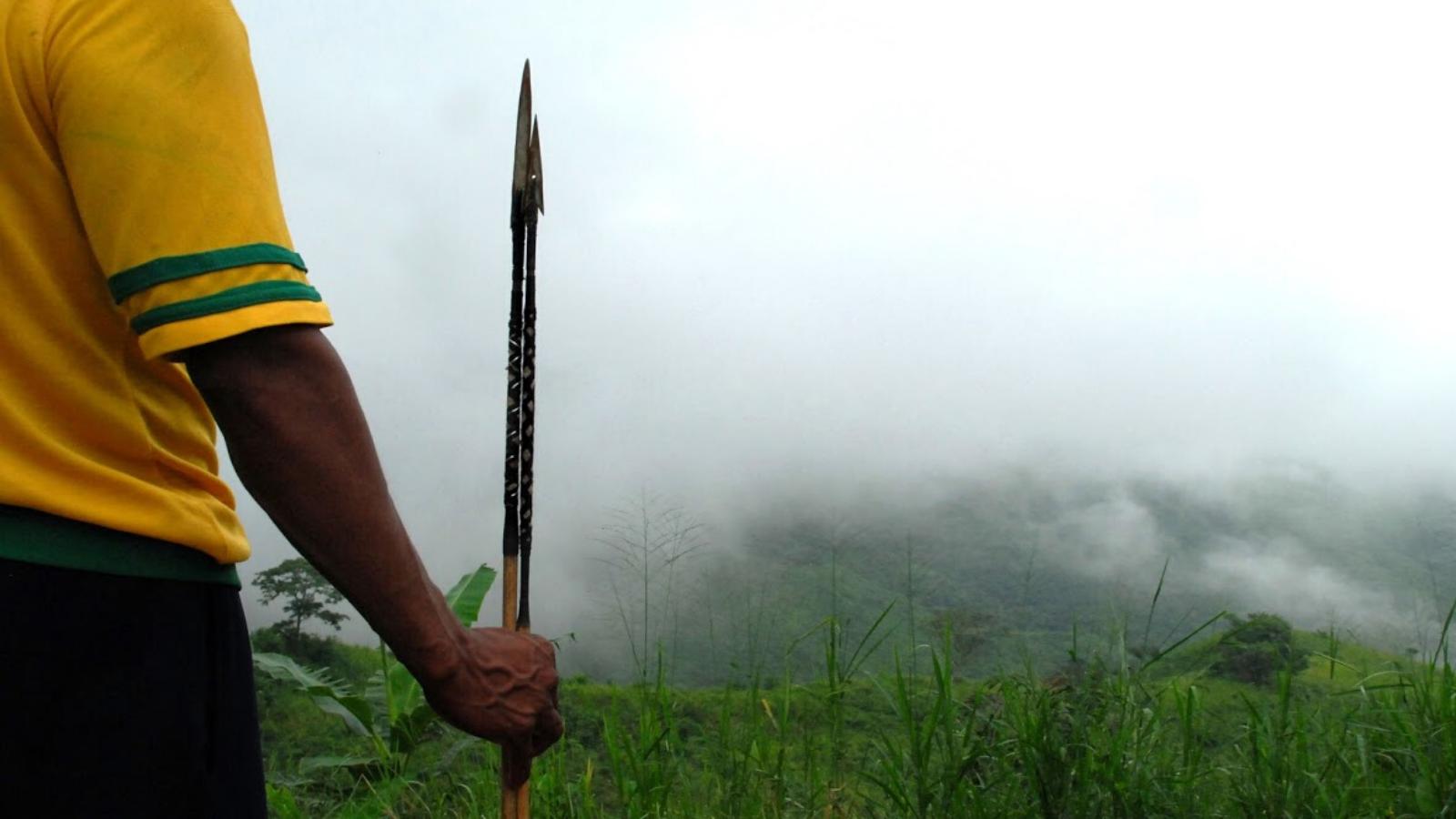 Los indígenas están huyendo del Amazonas por la selva