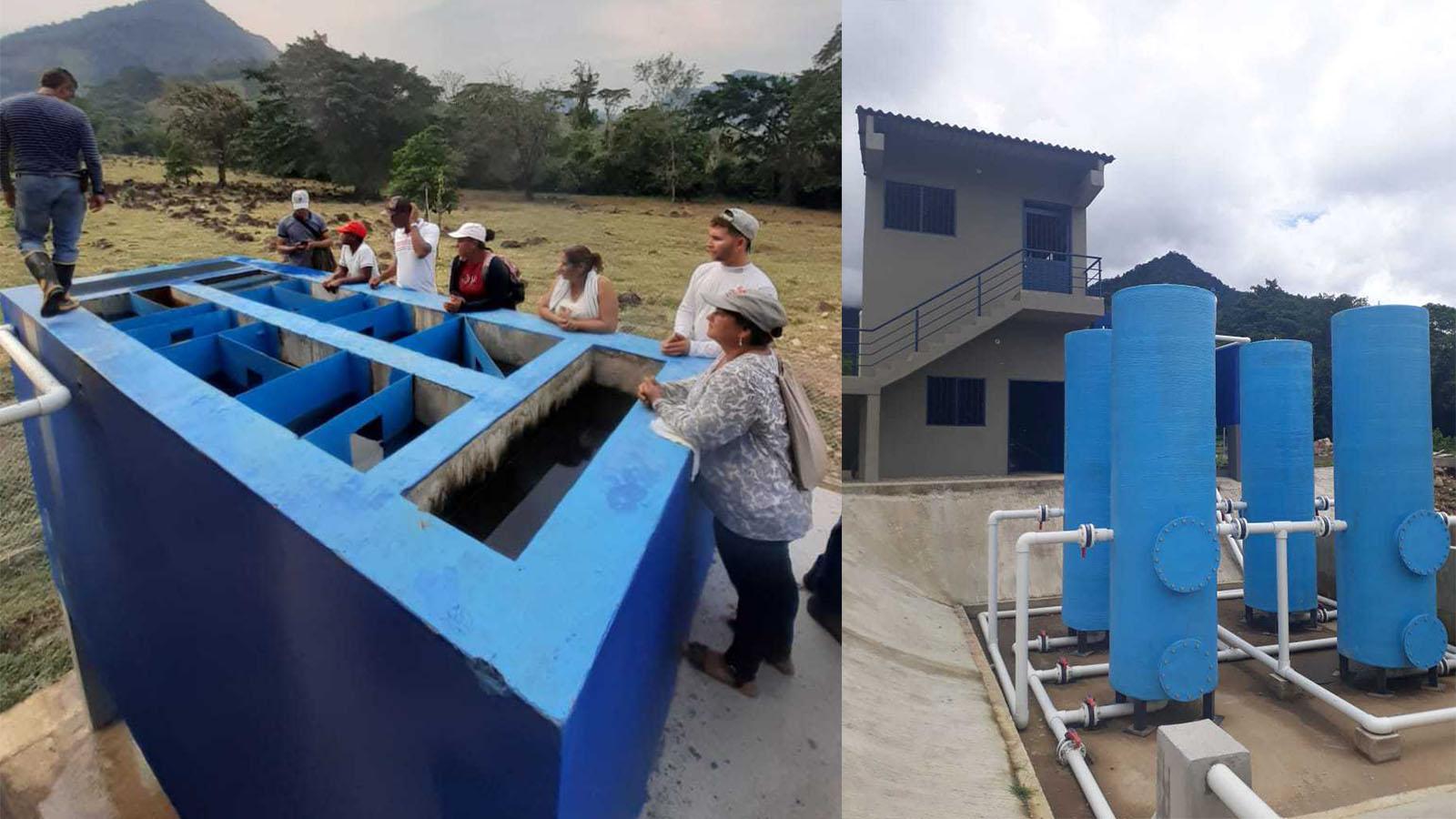 Más de mil habitantes de Vista Hermosa estrenan servicio de agua