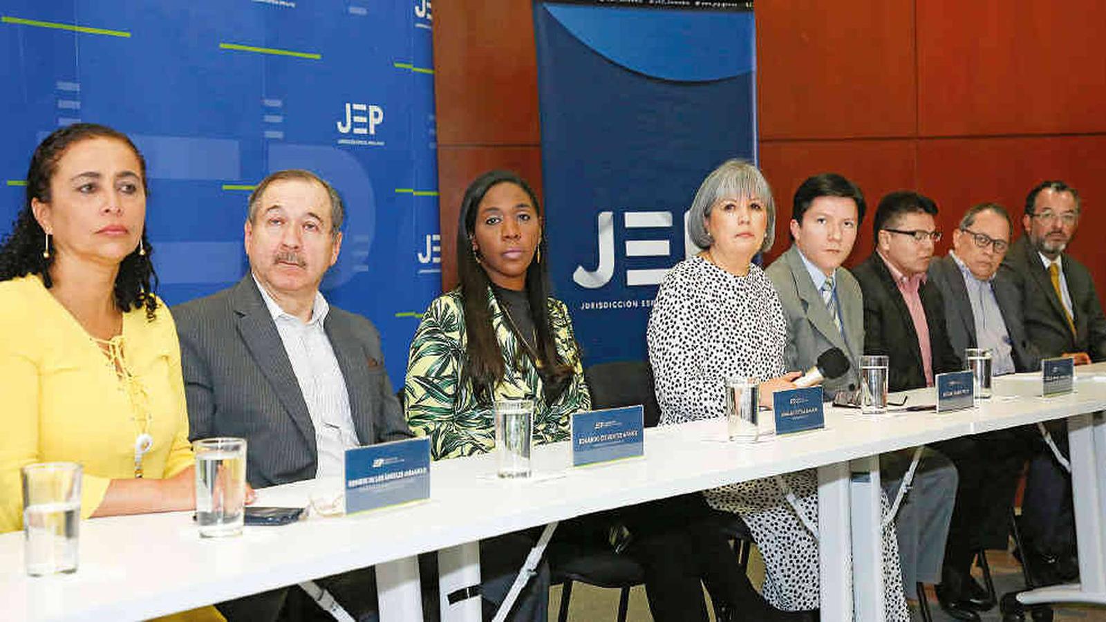 La JEP volverá a prestar atención presencial
