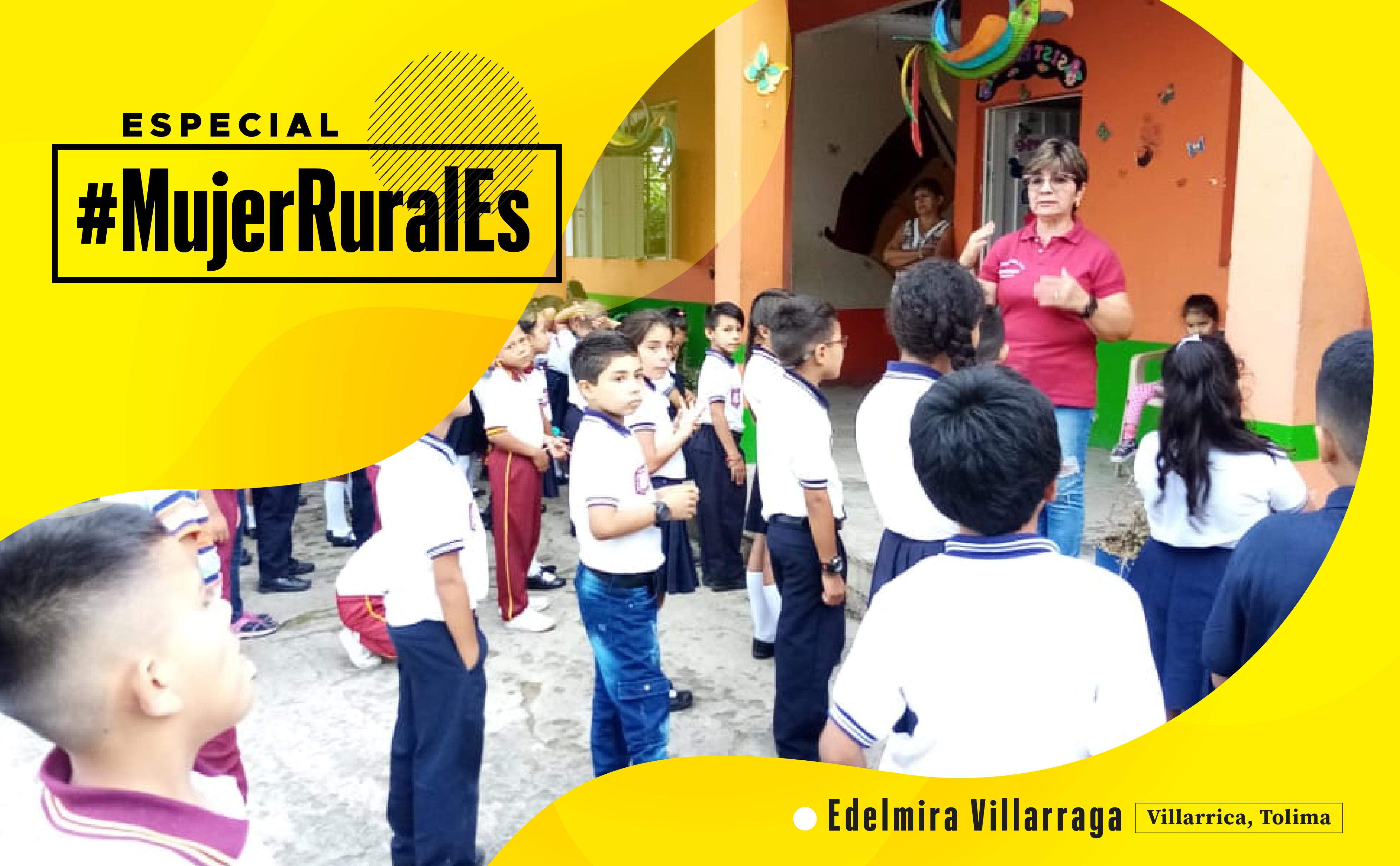 La 'profe' rural que inspira el cambio en Villarrica