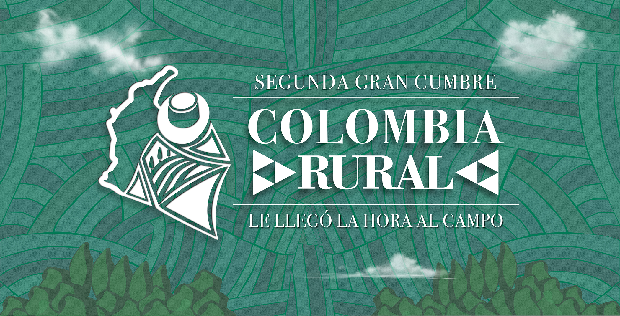 Conozca la agenda de la Segunda Gran Cumbre Colombia Rural