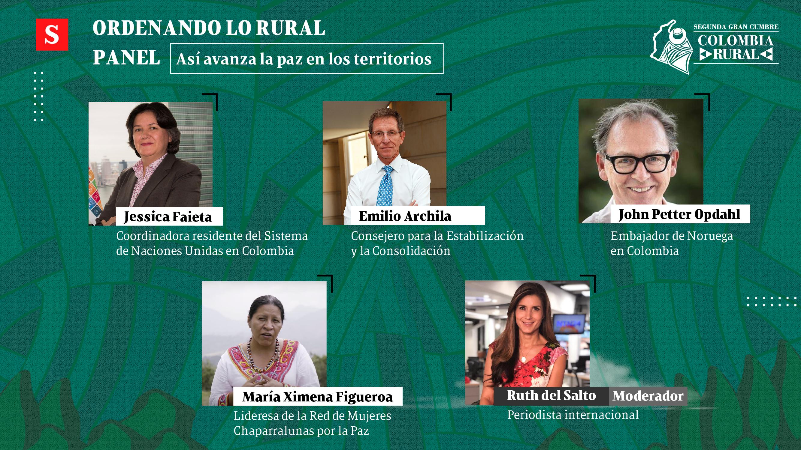 Siga en vivo el panel 'Así avanza la paz en los territorios'