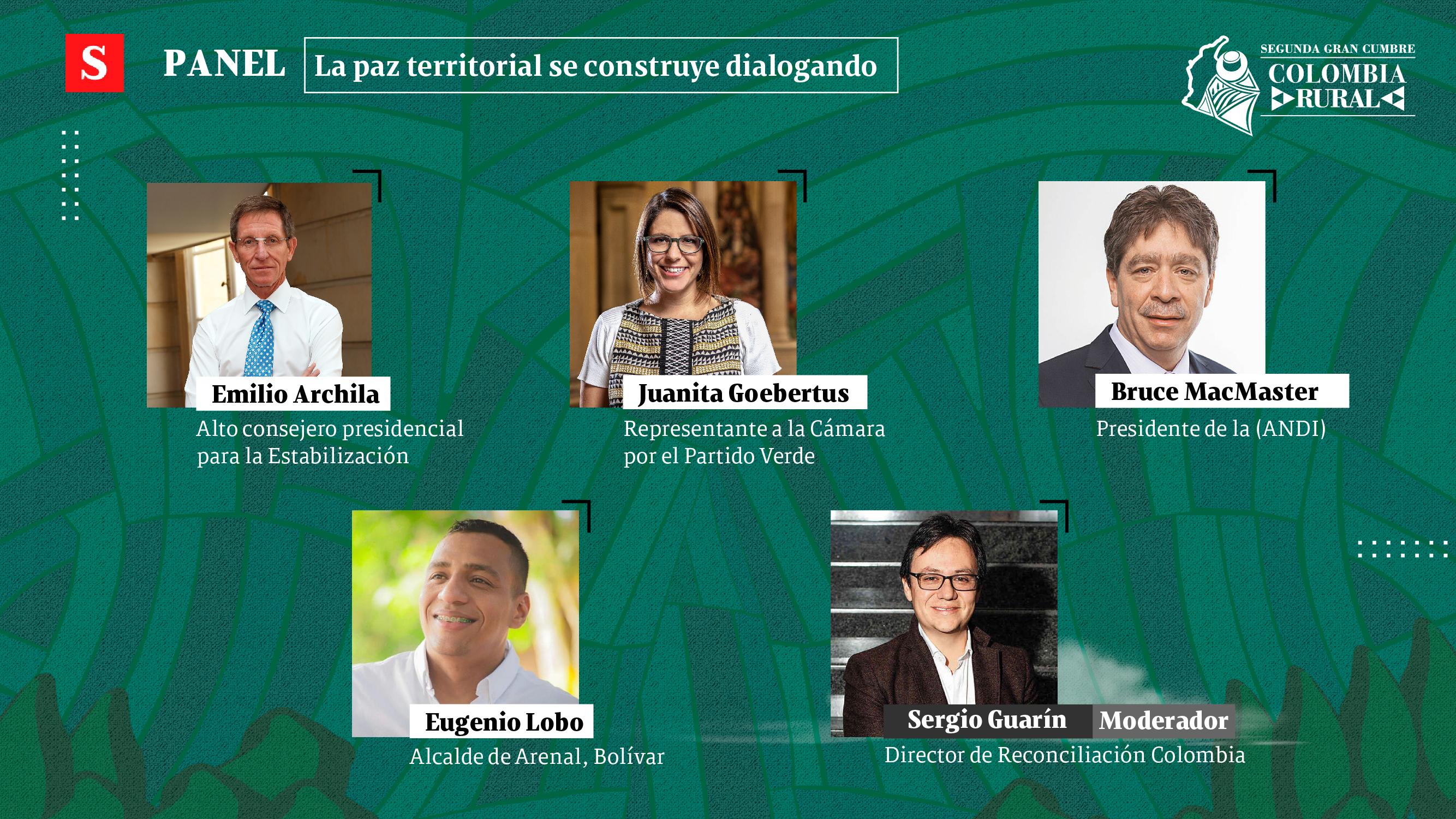 Ordenar lo rural, el centro de la conversación del segundo día de la Gran Cumbre Colombia Rural