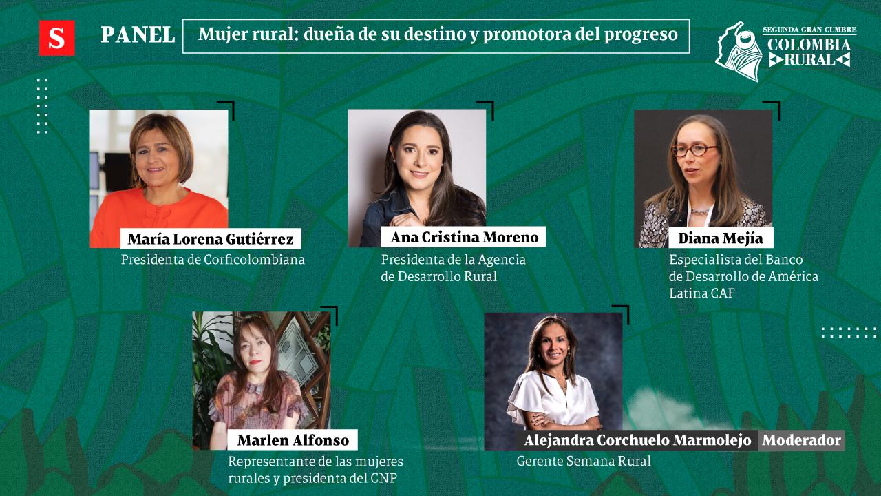 En vivo el tercer día de la Gran Cumbre Colombia Rural: 'La mujer rural transforma a Colombia'