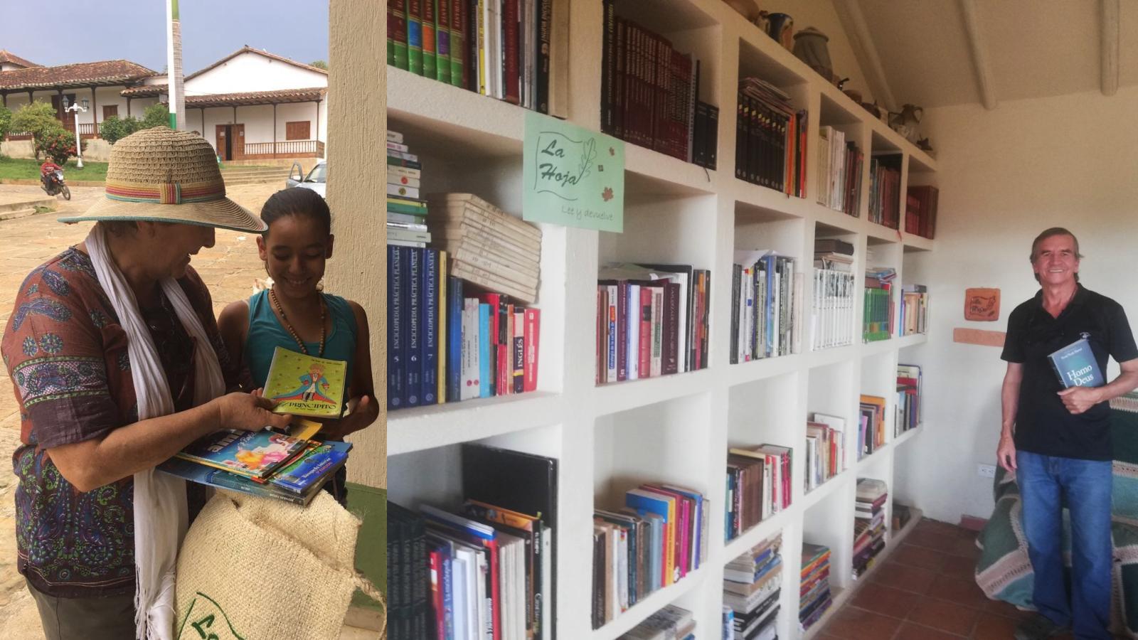 Una biblioteca fundada en la confianza