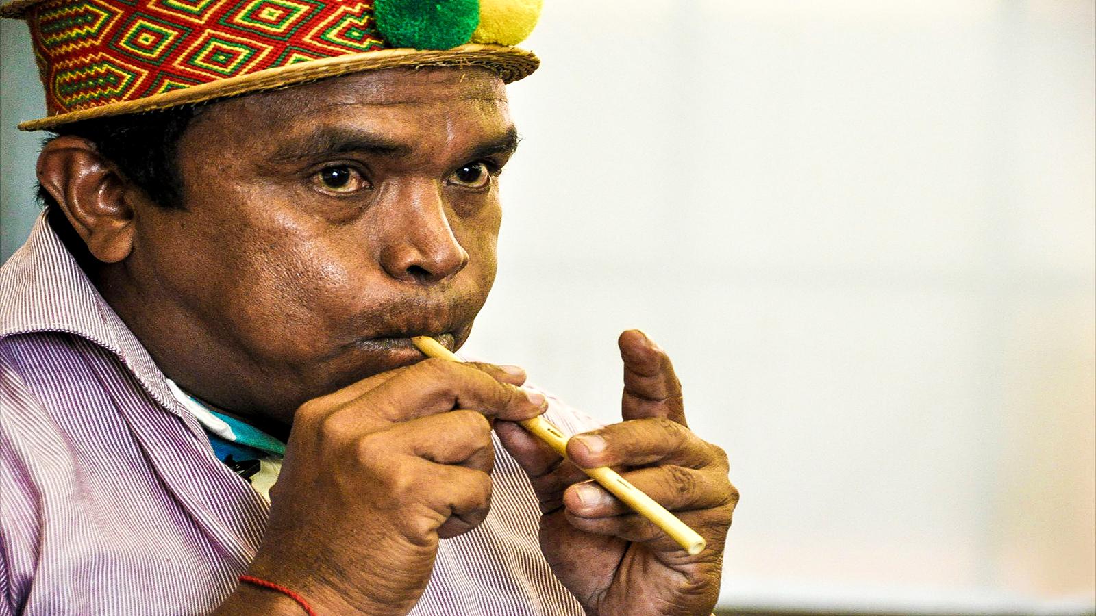 El profesor que mantiene viva la música wayuu