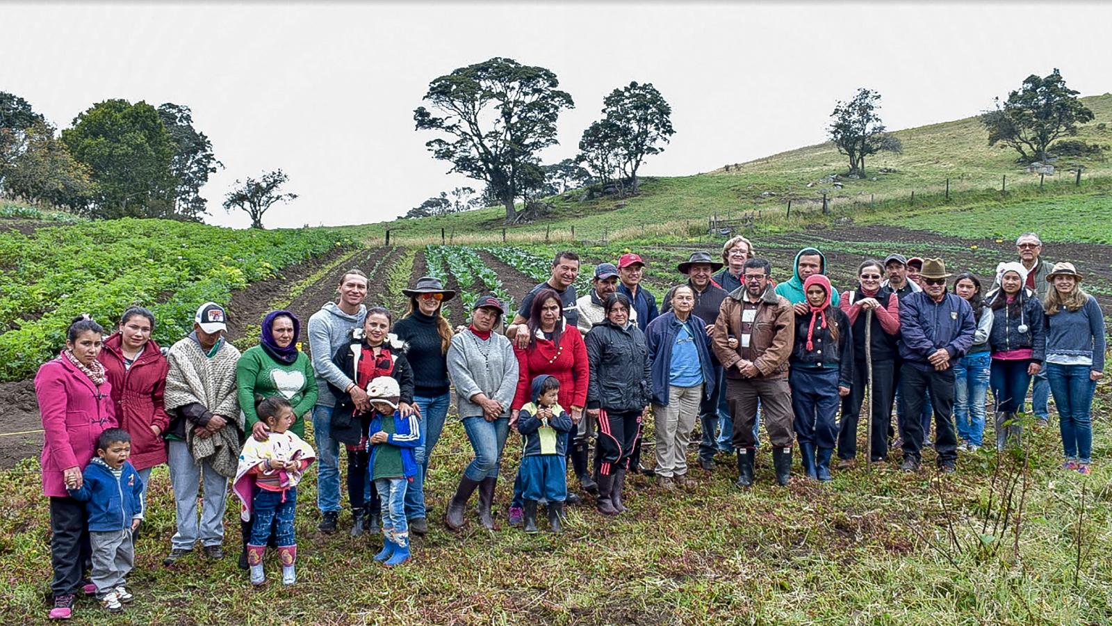 Cómo la innovación rural cambió la vida de una pequeña vereda en Subachoque