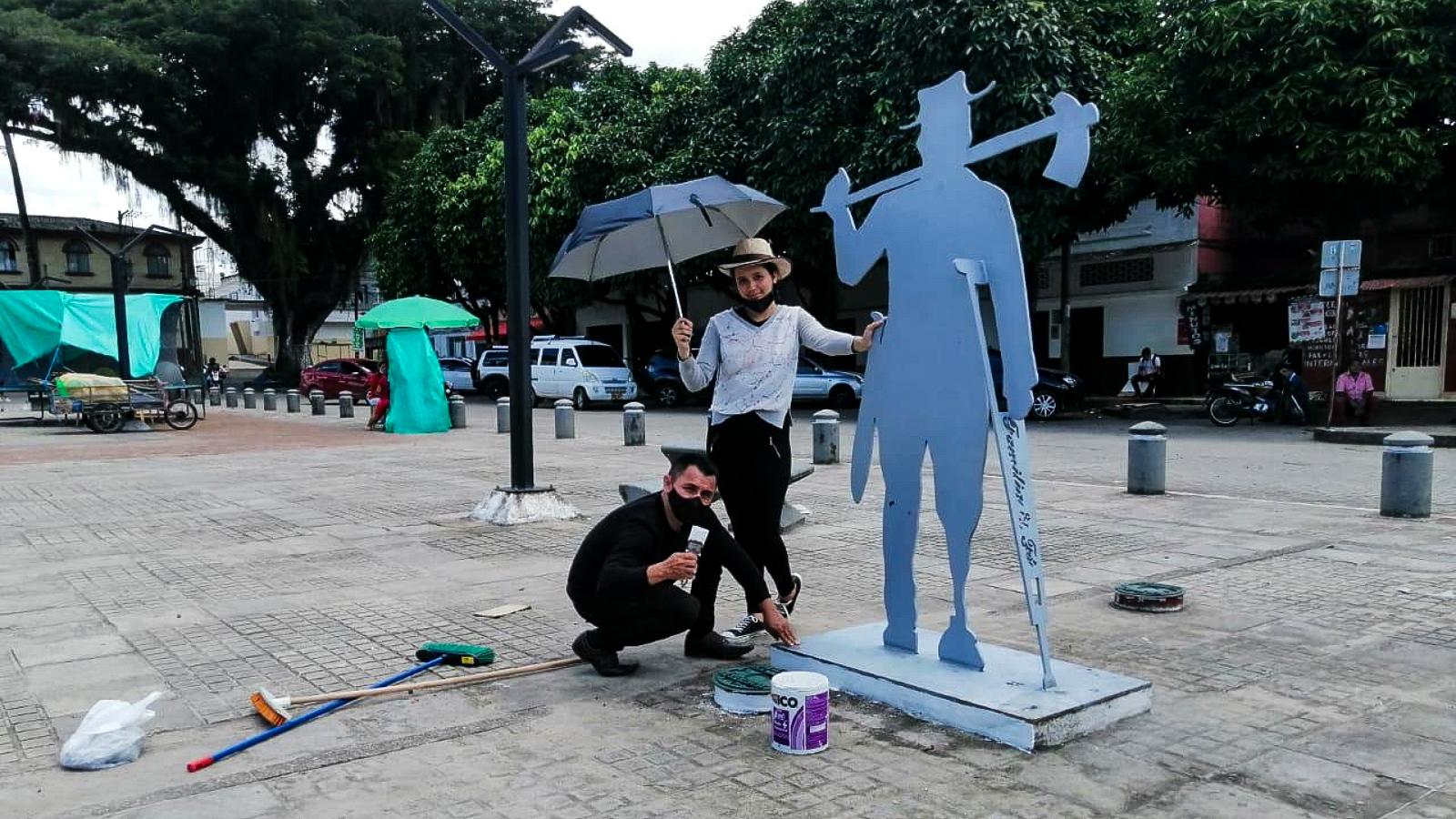 Las asociaciones de víctimas que luchan contra las minas antipersona en Huila y Caquetá