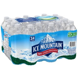 $1.99 Ice Mountain Spring Water
