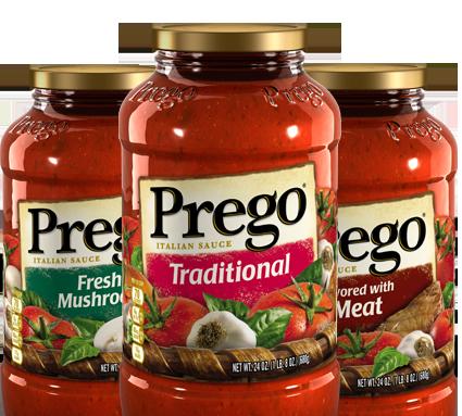 99 Cents Prego Pasta Sauce