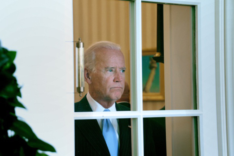 Joe biden window